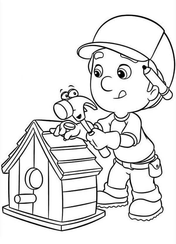 Handy manny coloring pages to download