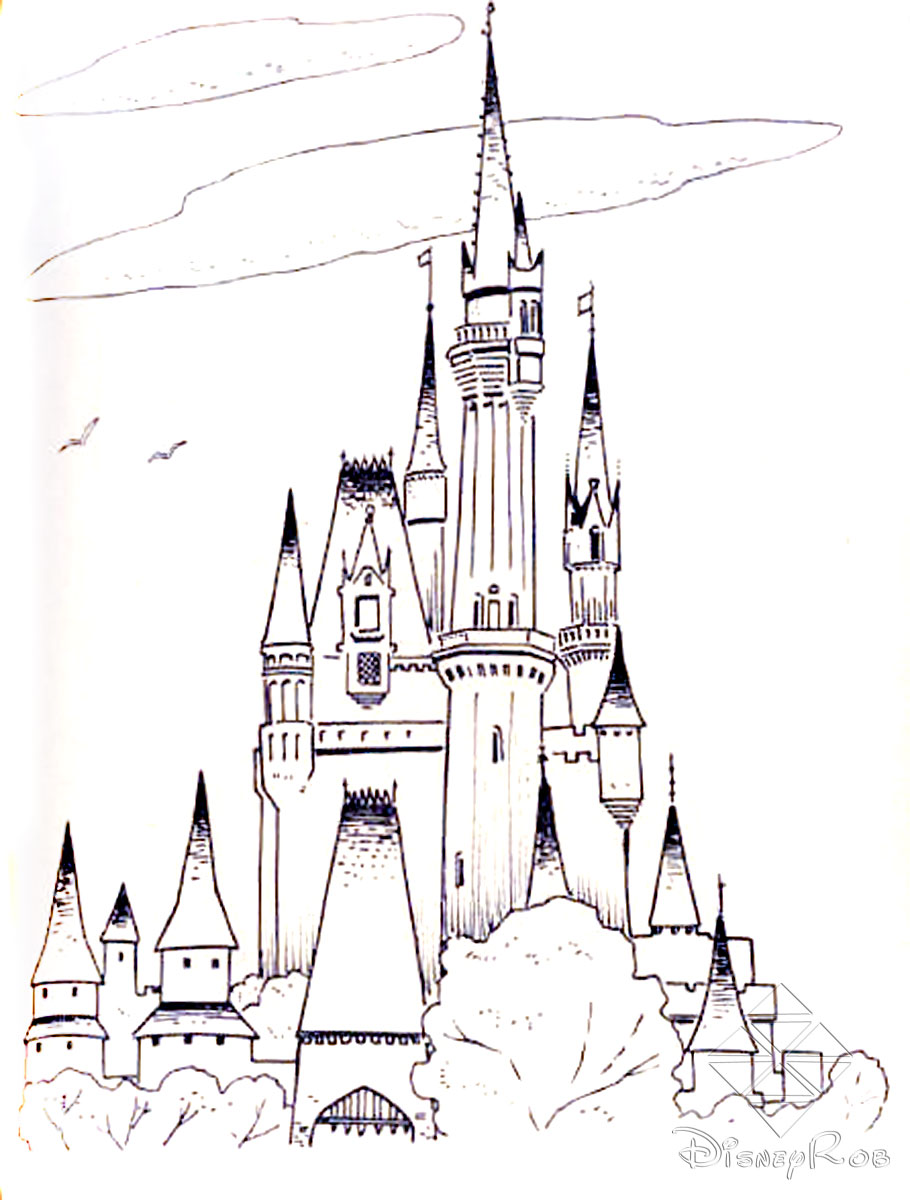 disney world coloring pages - Disney World Coloring Pages Print