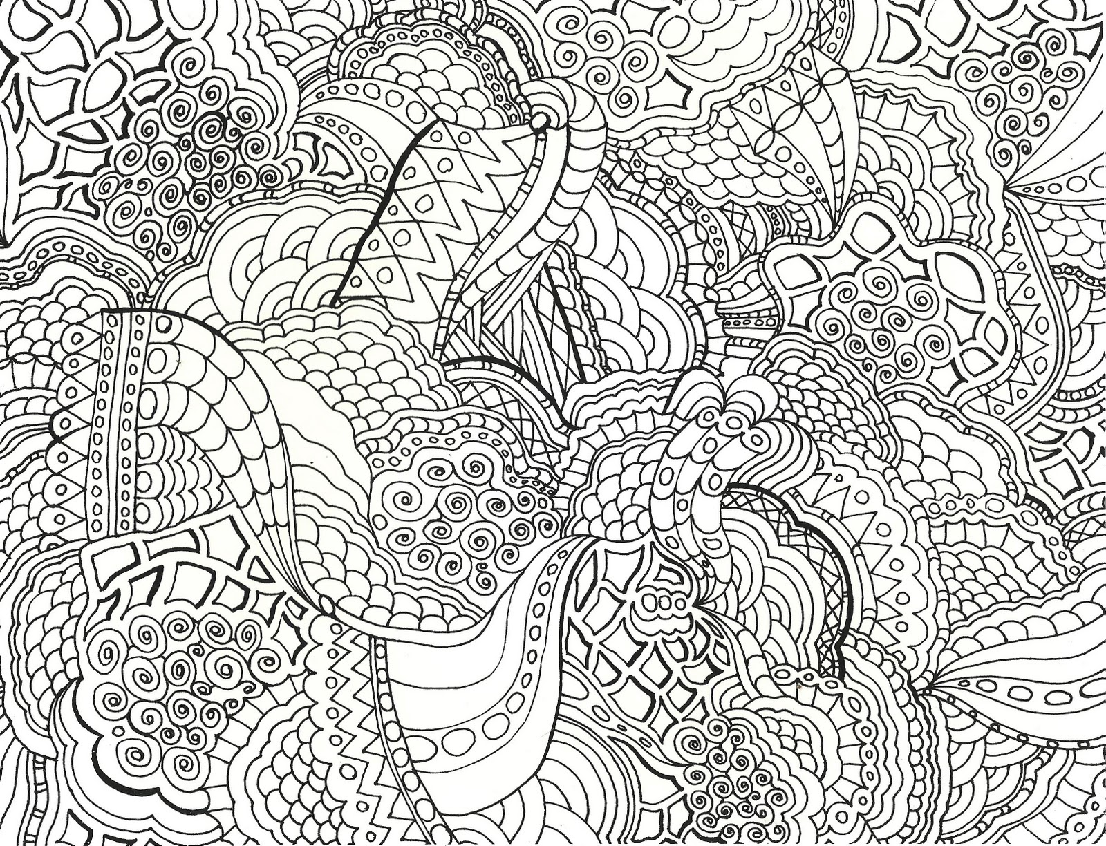 Detailed Coloring Pages For Adults Awesome Detailed Coloring Pages To Download And Print For Free