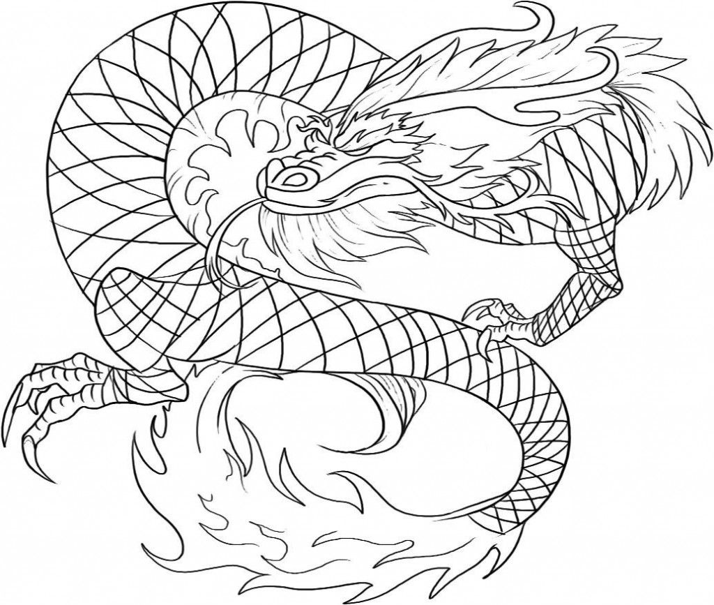 dragon gets by coloring pages - photo#42