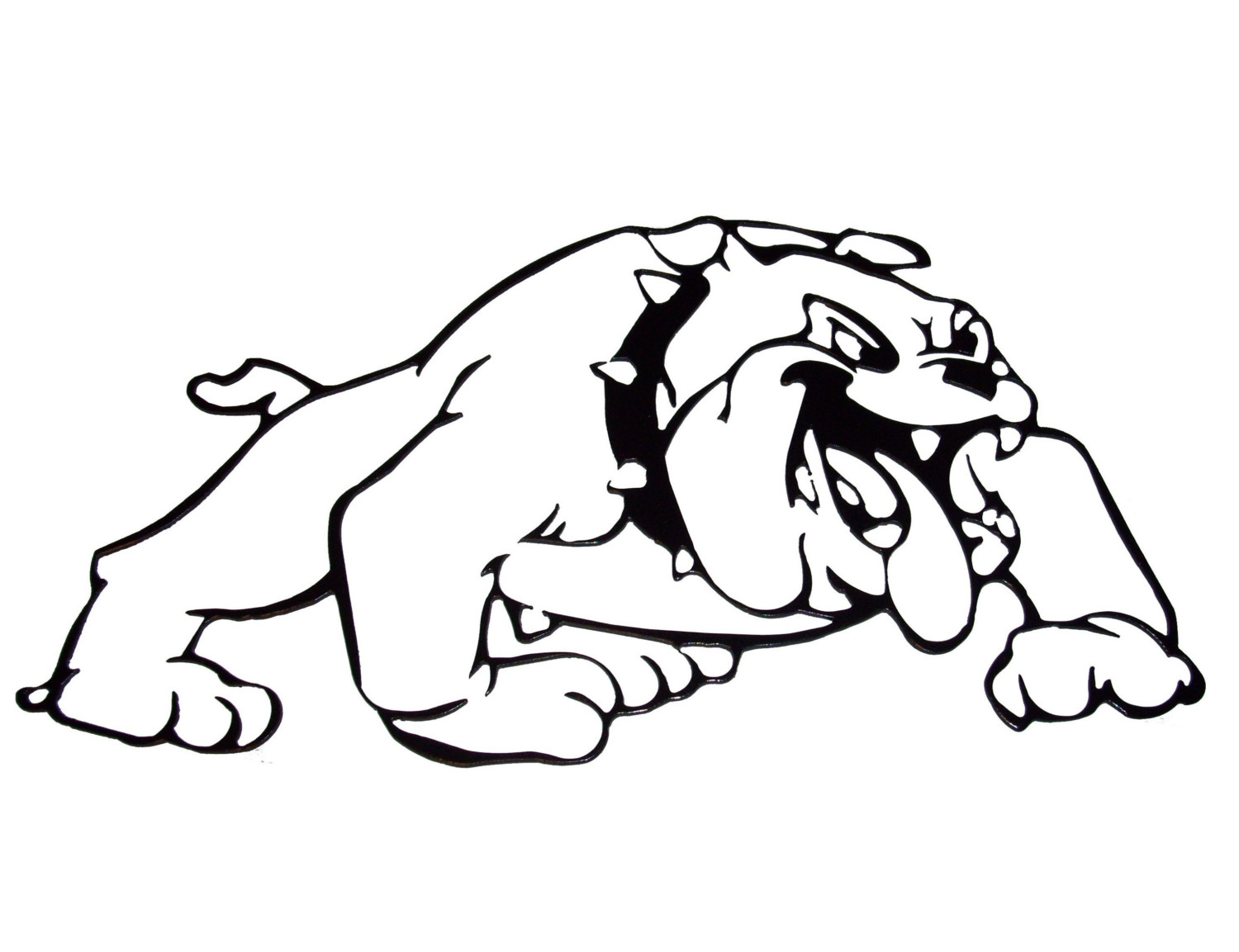 Bulldog coloring pages to download and print for free for Free printable bulldog coloring page