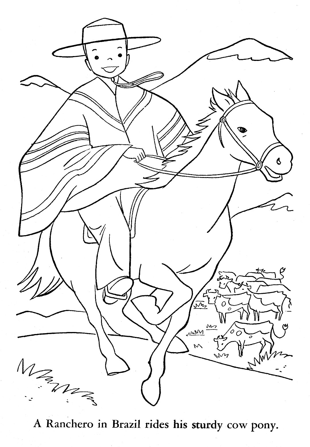 Argentina Animals Coloring Pages | Coloring Page
