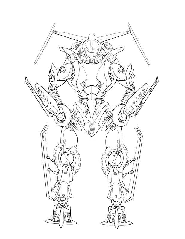 Bionicle coloring pages to download