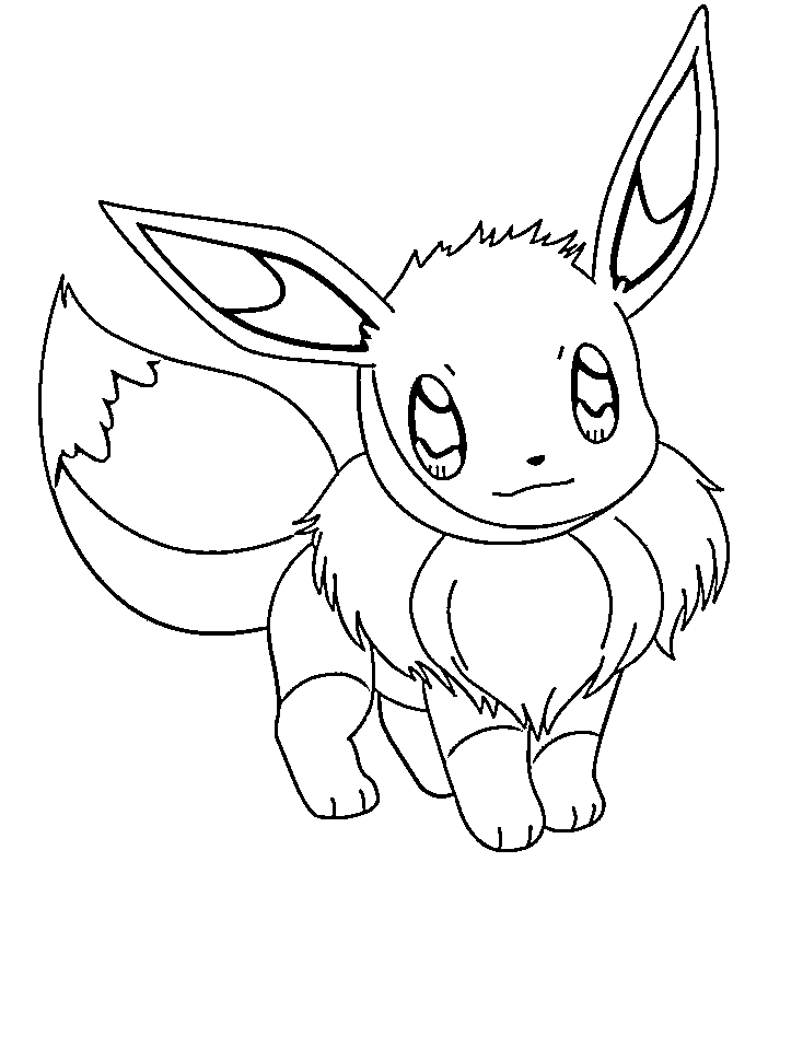Lujo Pokemon Coloring Pages Eevee Evoluciones Juntos Ideas - Dibujos ...