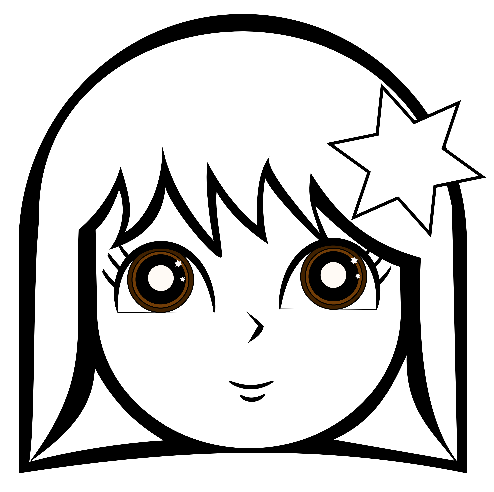 cute girl coloring pages - Coloring Page Girl