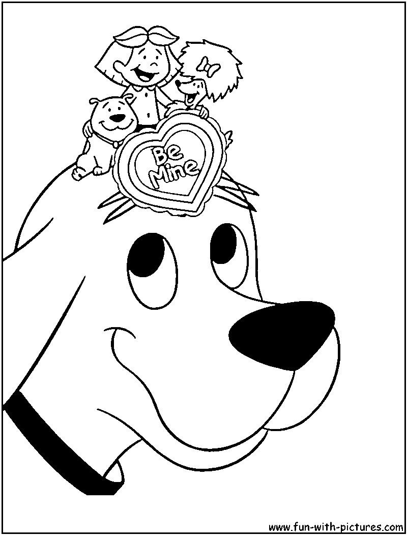 Clifford Coloring Pages To Download And Print For Free