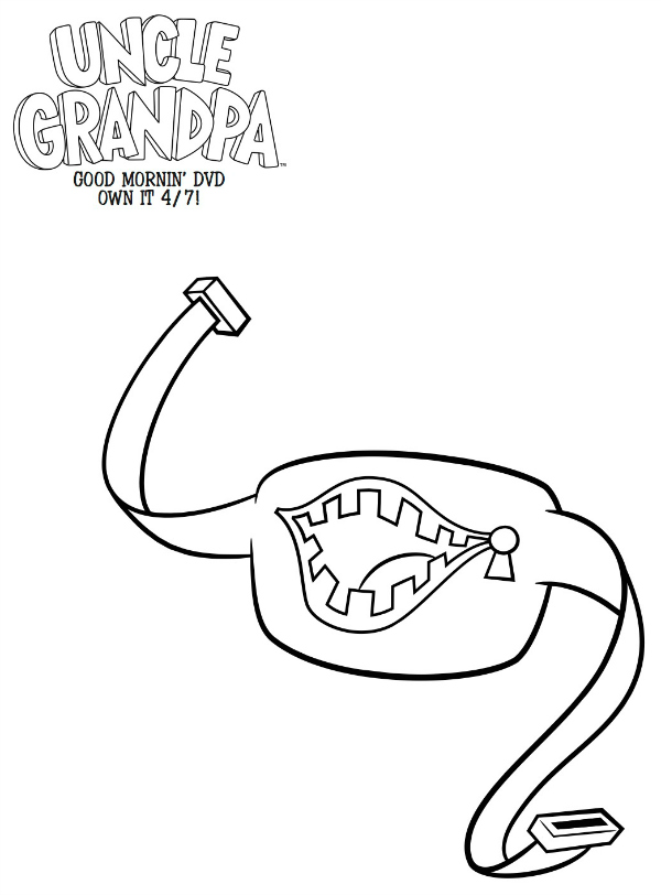 Uncle Grandpa Coloring Pages Download And Print For Free