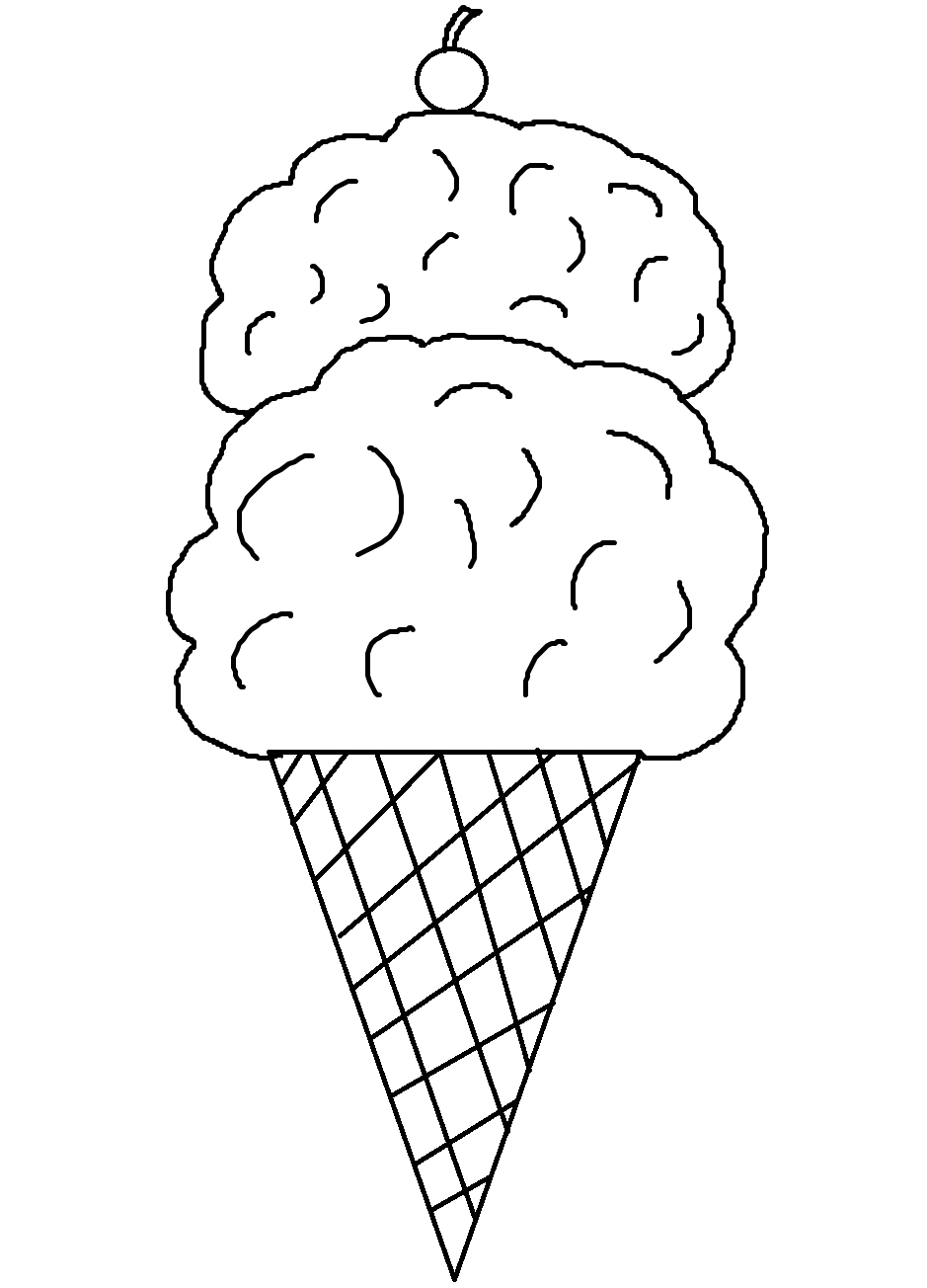 Ice cream coloring pages download