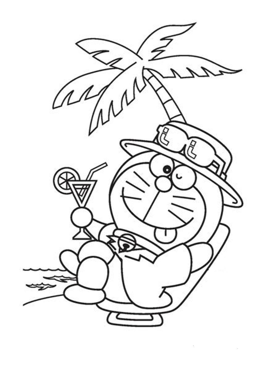 doraemon coloring pages - Doraemon Colouring Book