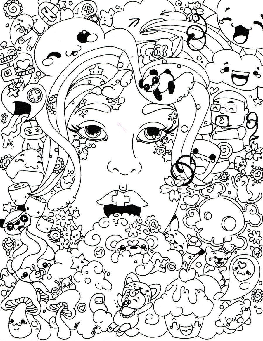 It is a photo of Ambitious Coloring Pages Trippy