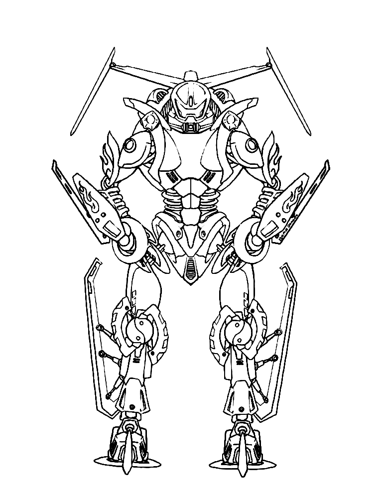 Lego Bionicle coloring pages to