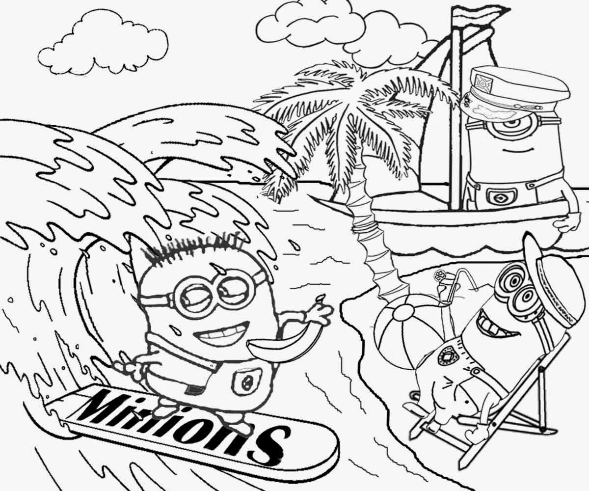 Fr free coloring pages despicable me - Vampire Minion Coloring Pages