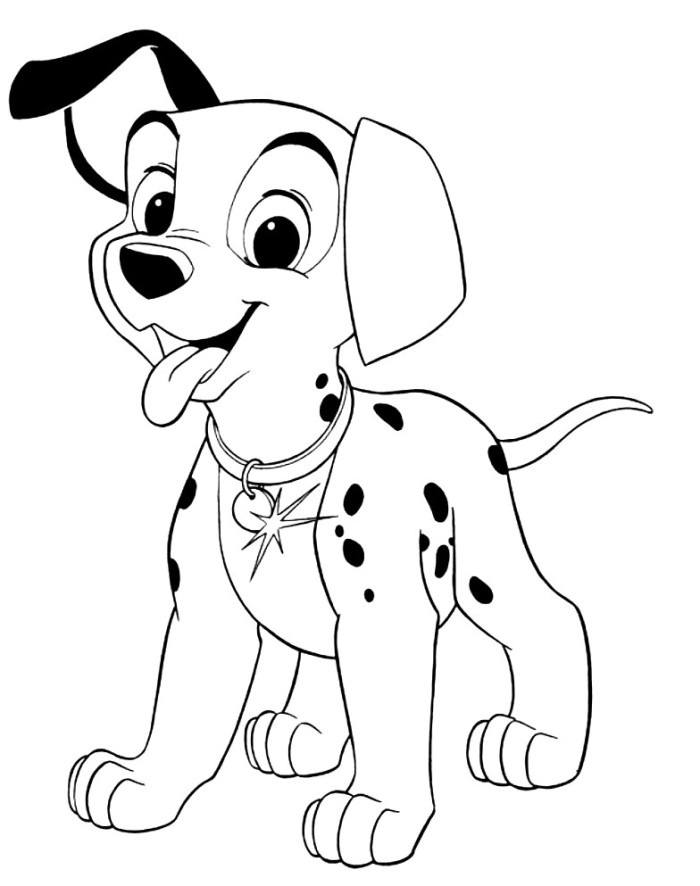 dalmatian puppies coloring pages - photo#46