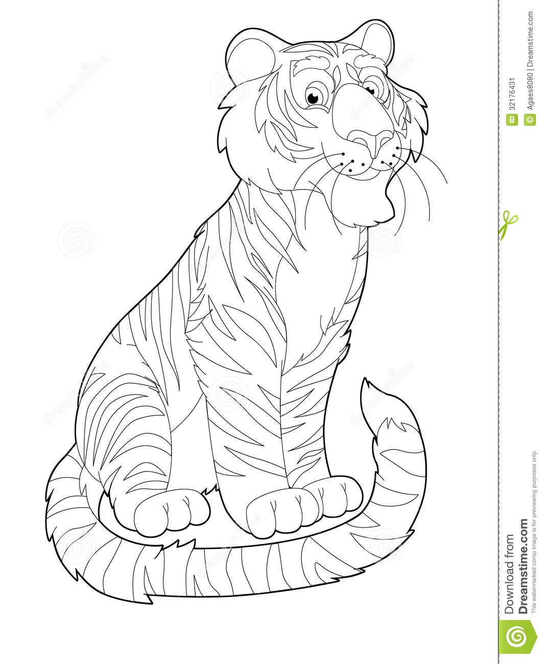 safari animals coloring pages - photo#35