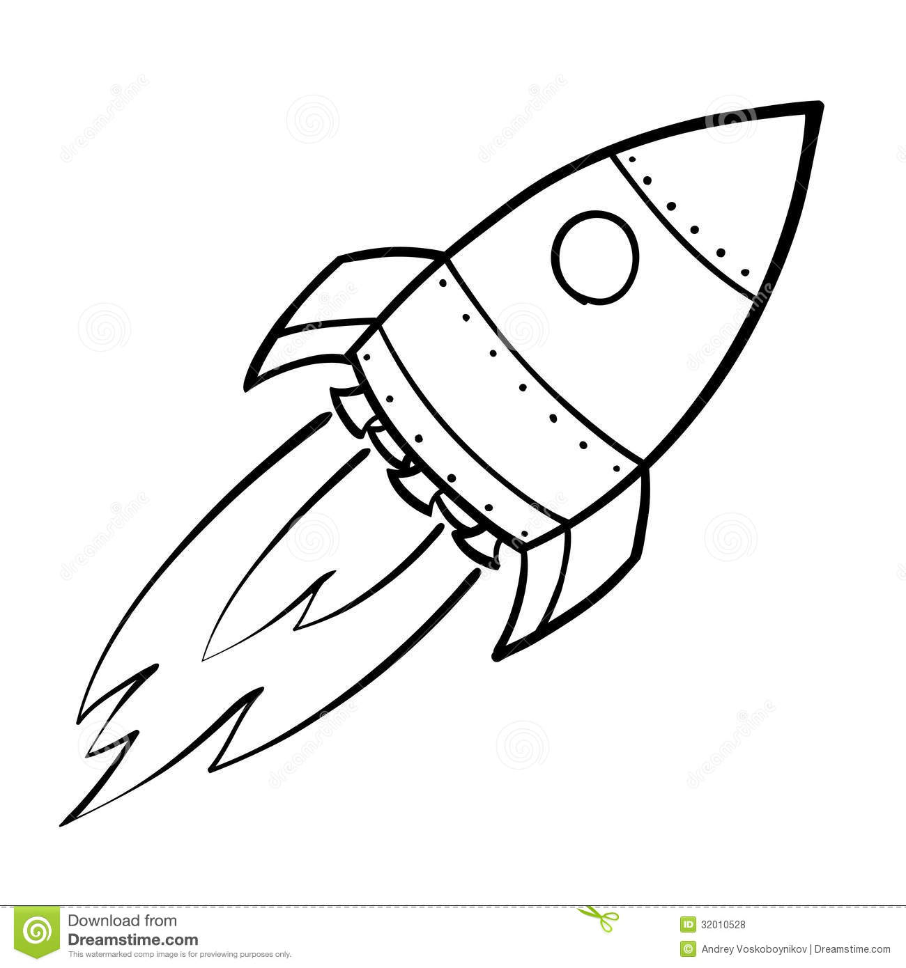 Nasa rocket coloring pages