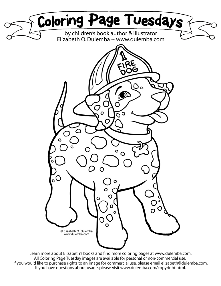 childrens fire safety coloring pages - photo#18