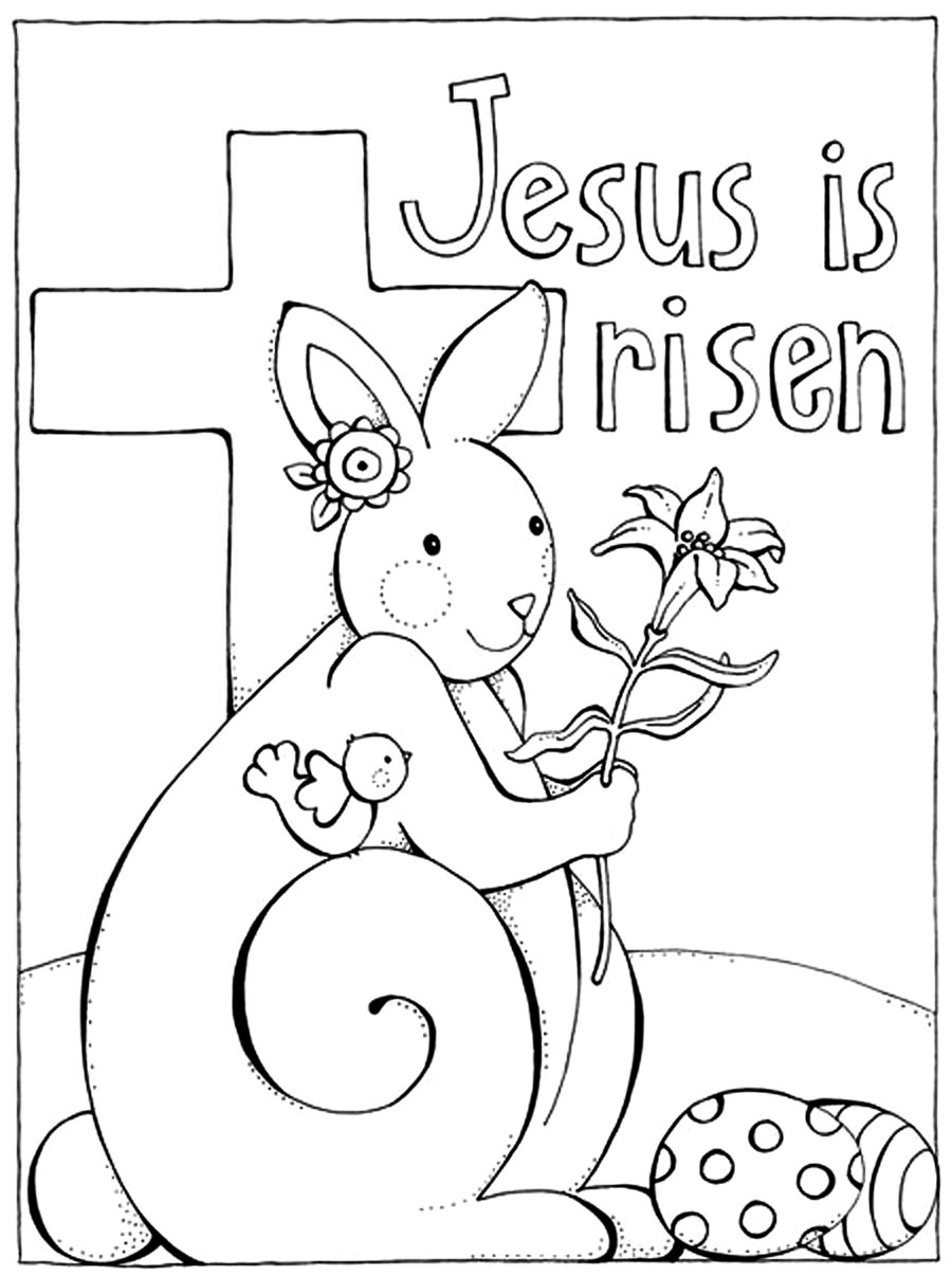 Influential image for christian easter coloring pages printable free