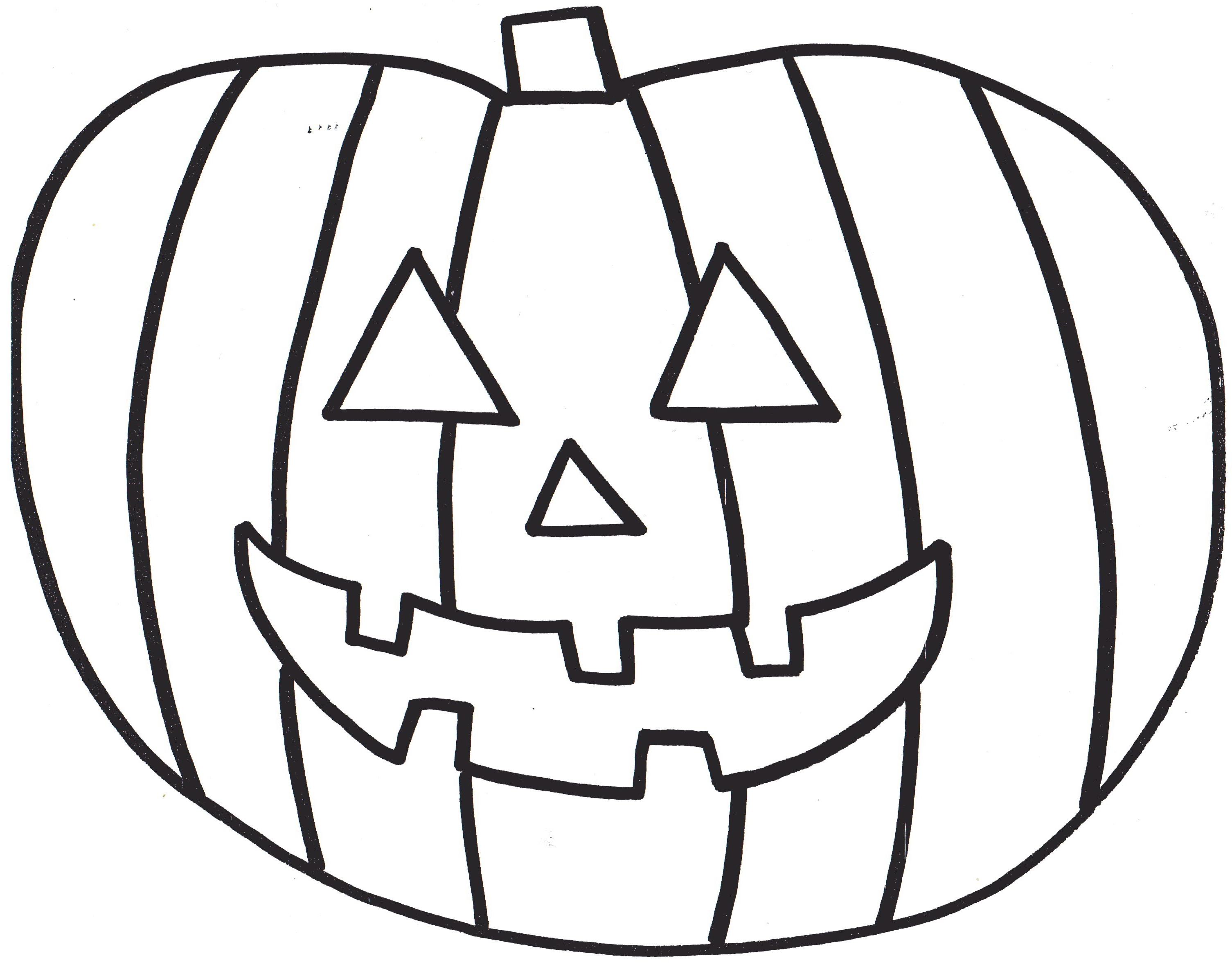 Pumpkin coloring pages to download