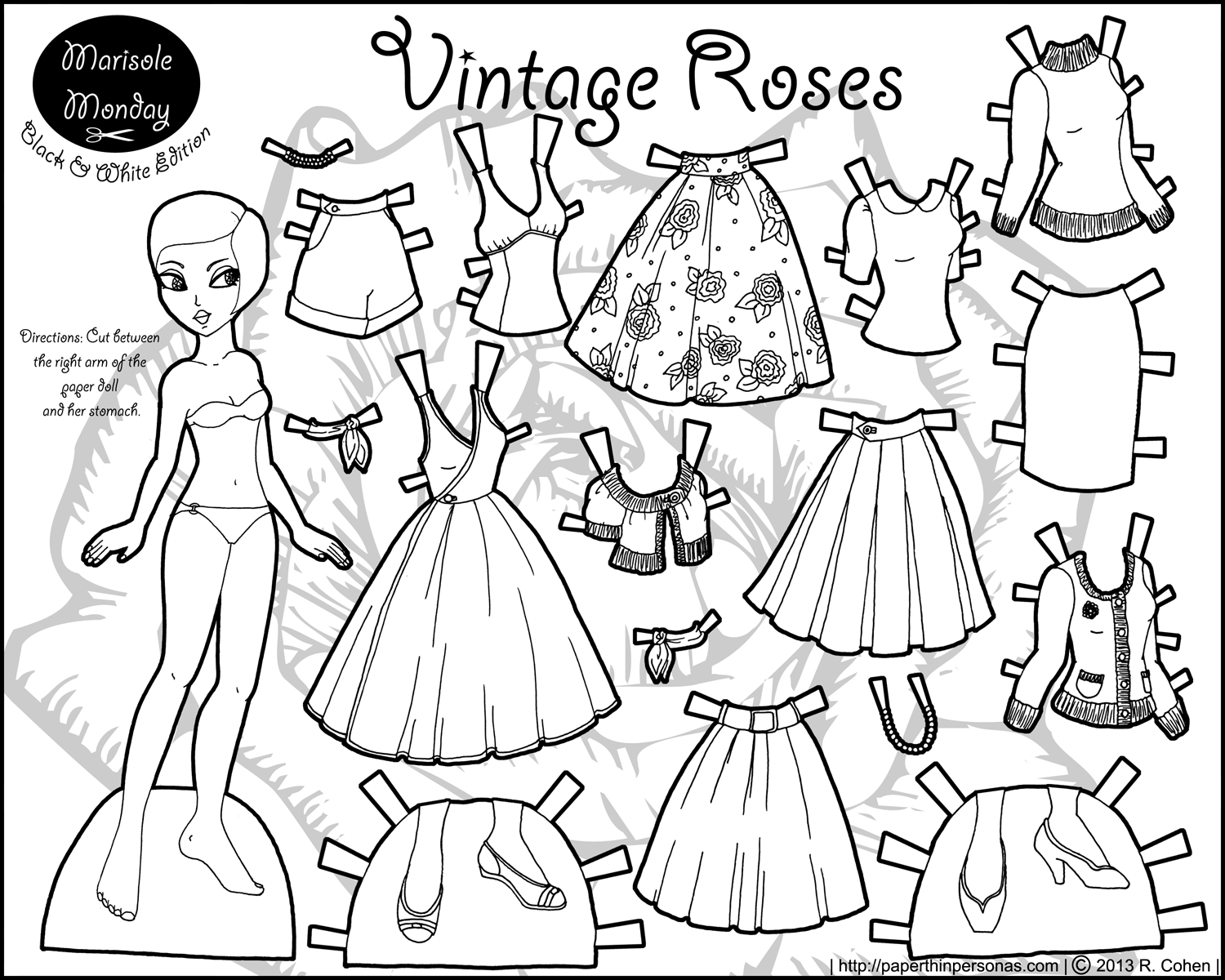 coloring pages dolls - photo#47