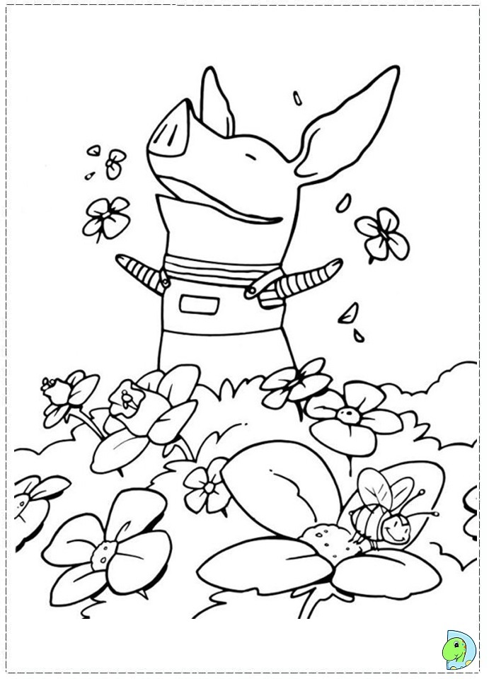 olivia coloring pages for kids - photo#3