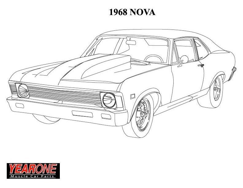 hot rod coloring pages to download and print for free