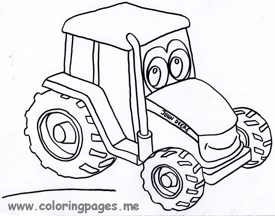 Tractor Coloring Pages To Download And Print For Free