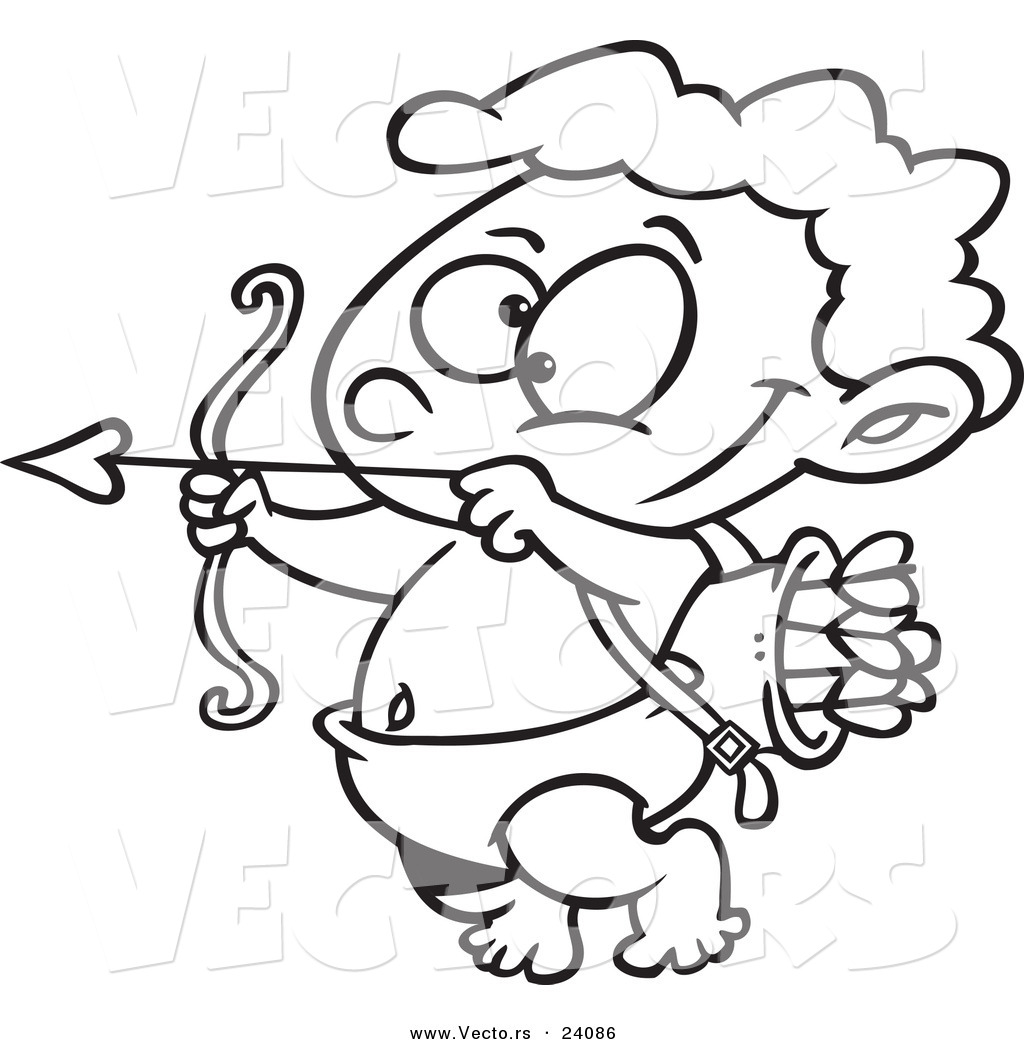 cupid coloring pages - photo#31