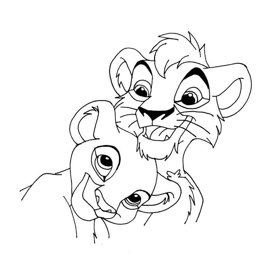 King goofy coloring pages