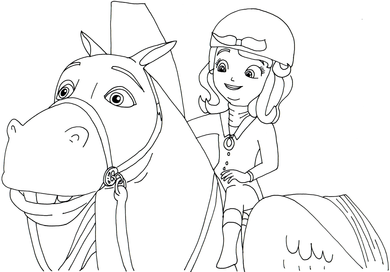 prncess coloring pages - photo#41