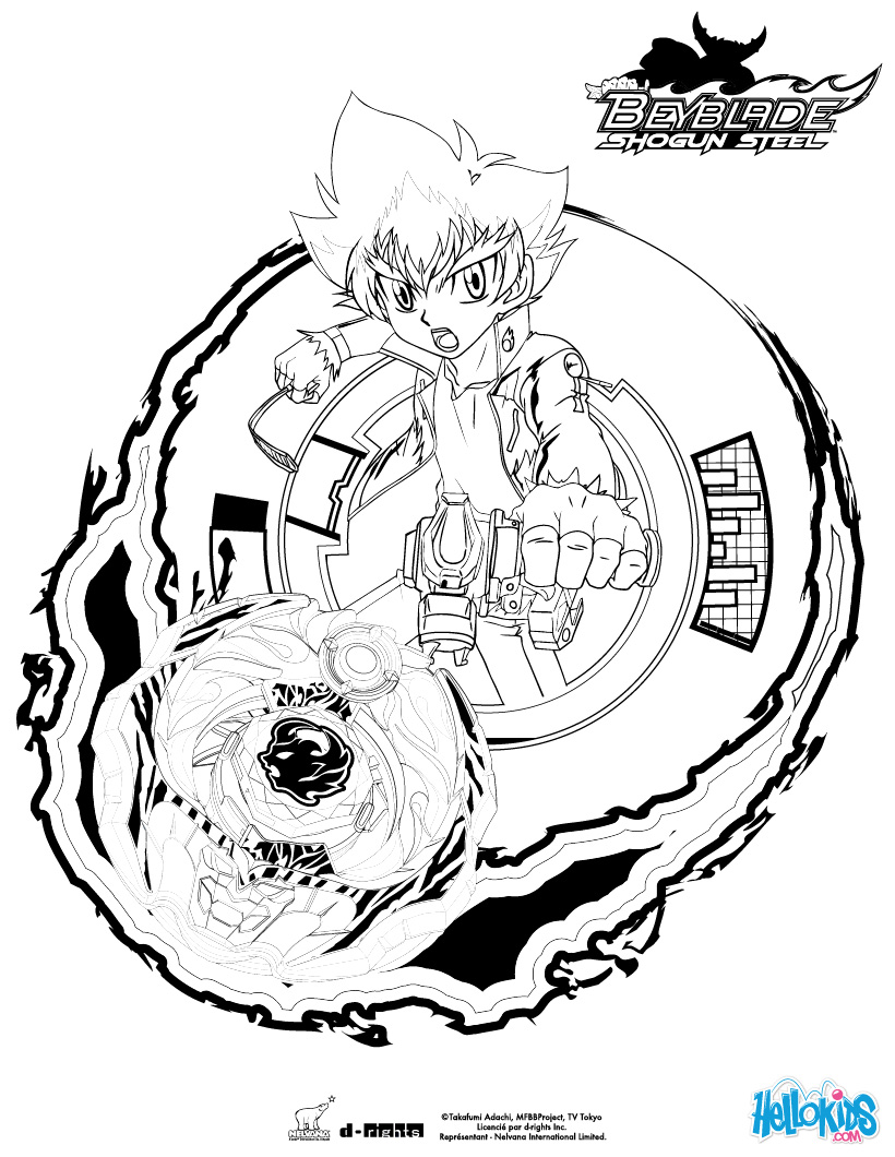 beyblades pegasus coloring pages - photo#11