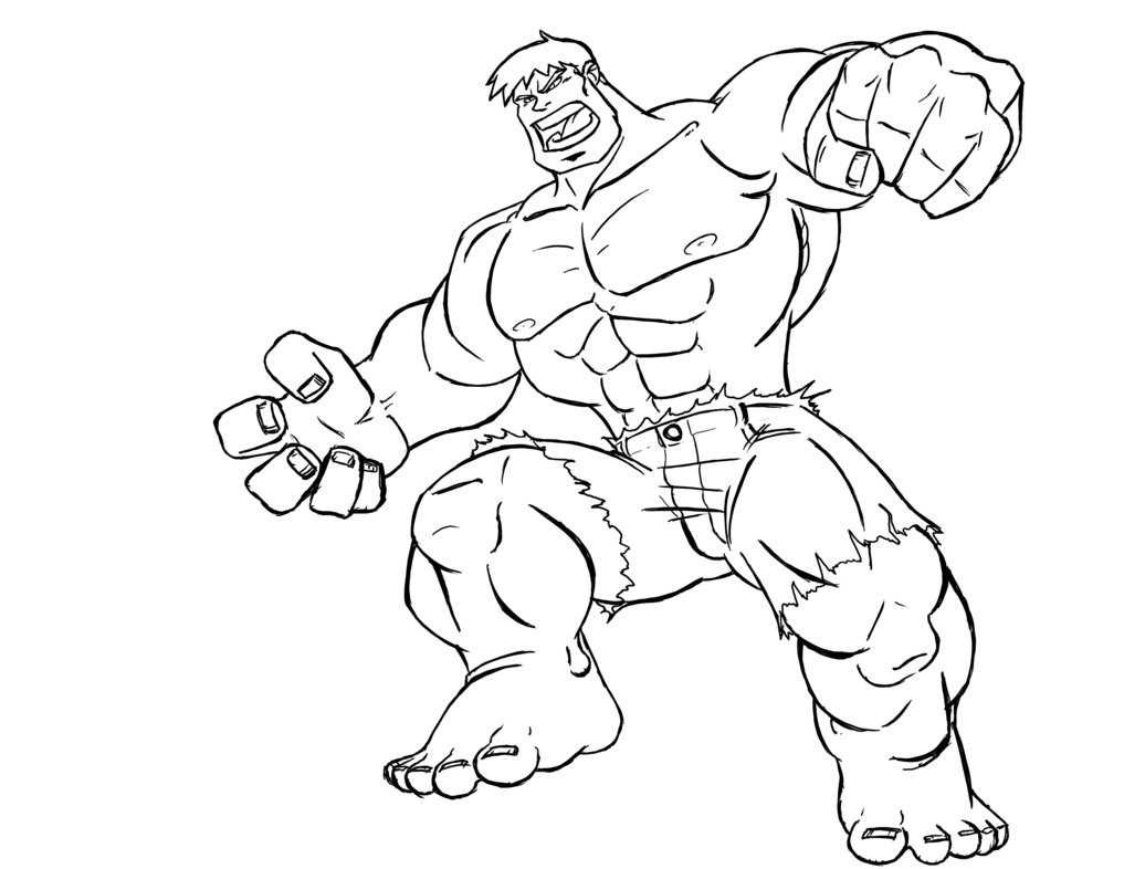 Superhero coloring pages to download