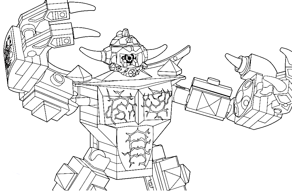Kleurplaat Machine Lego Nexo Nights Coloring Pages To Download And Print For Free
