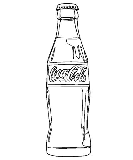 coca cola coloring pages - photo#1