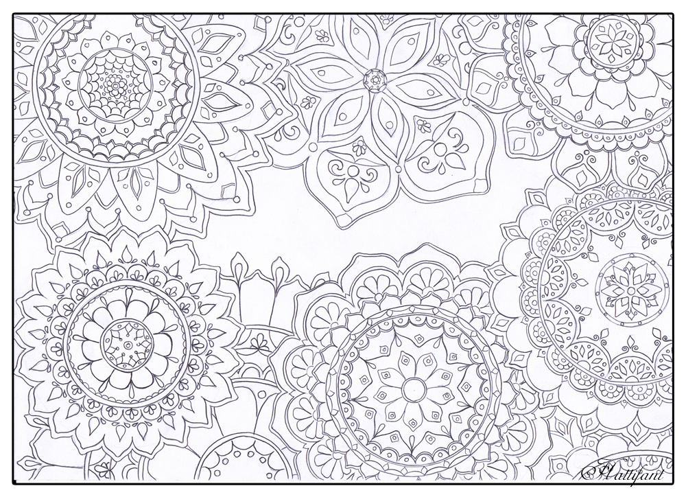 Coloring Book For Stress Relief : Stress coloring pages to download and print for free