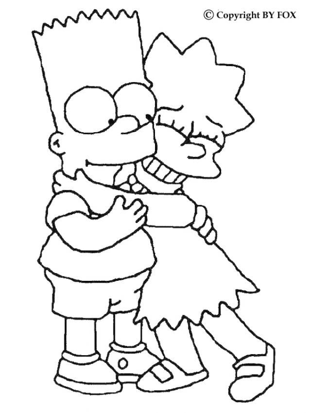 Simpson Coloring Pages To Download And Print For Free