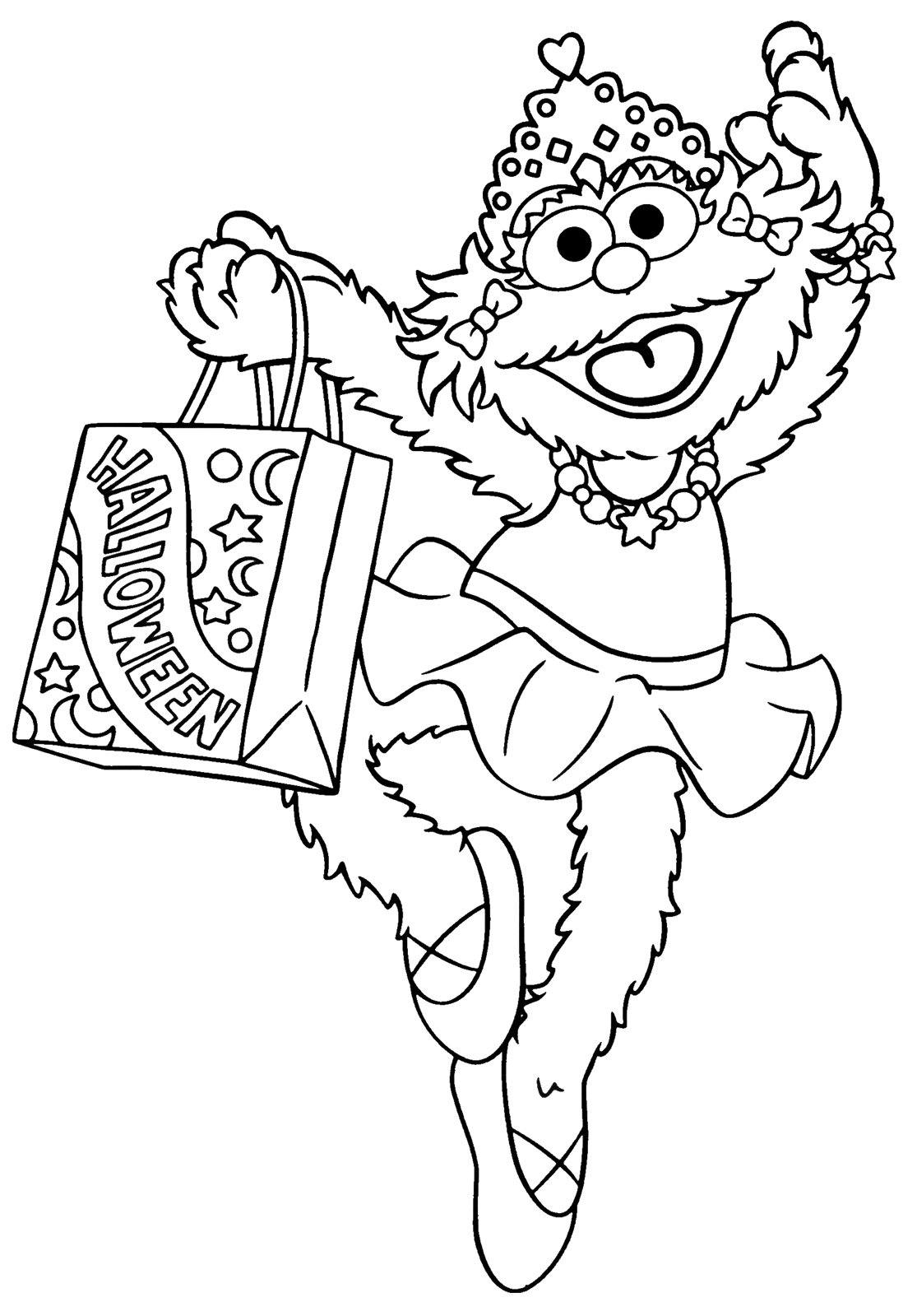 Sesame street coloring pages to