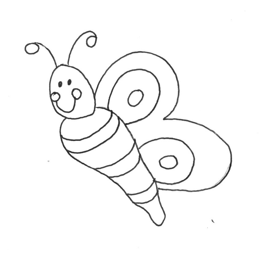 Spring bug coloring pages download