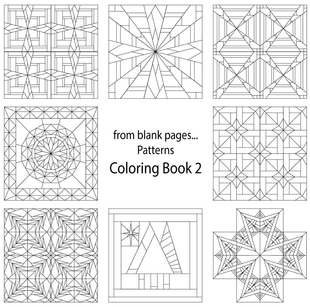 Quilt coloring pages to download and print for free