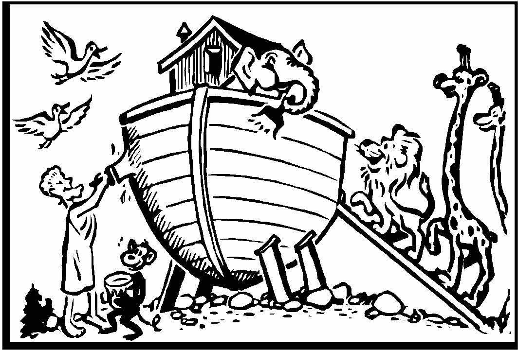 coloring pages noahs ark - photo#39