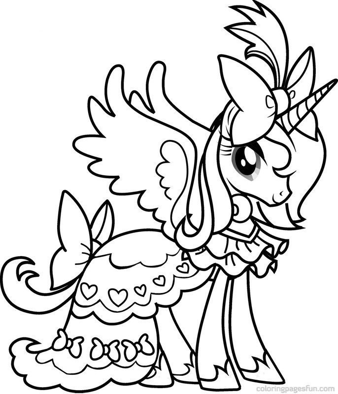 My little pony christmas coloring pages to download and ...