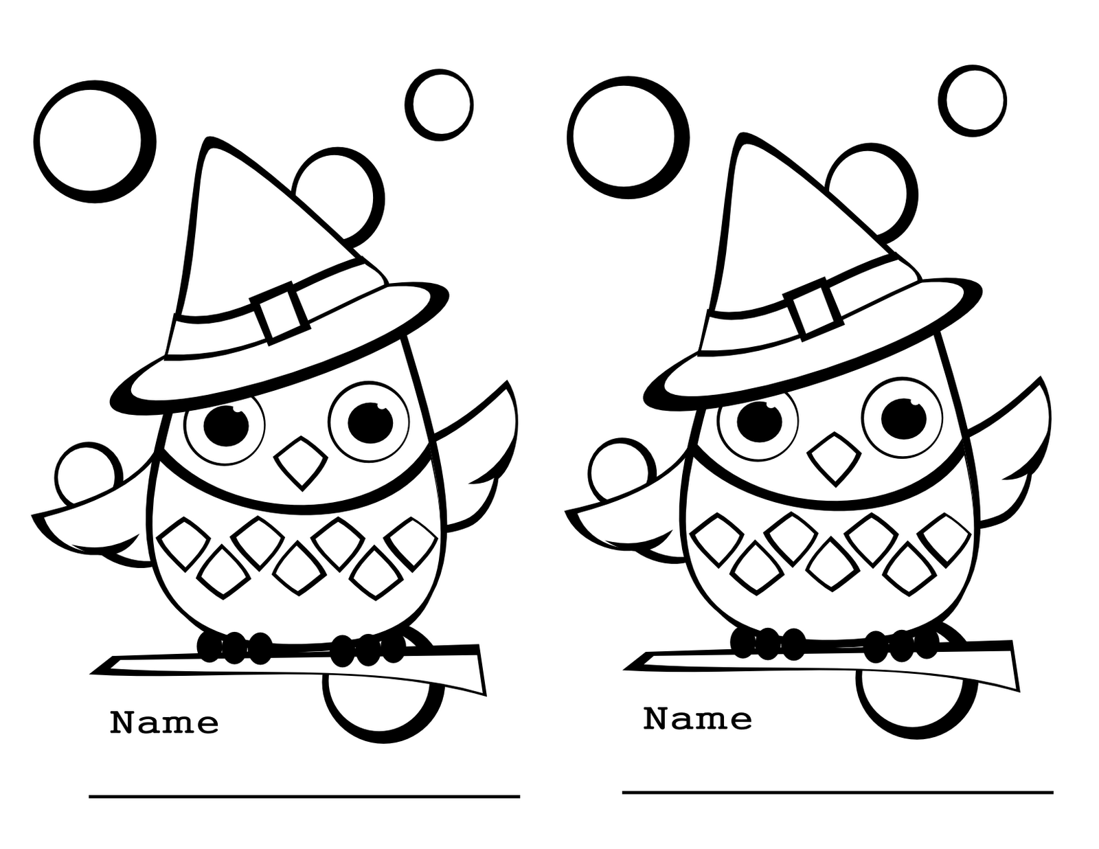 October Coloring Pages To Download And Print For Free