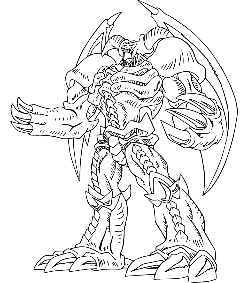 Yu gi oh coloring pages to download and print for free