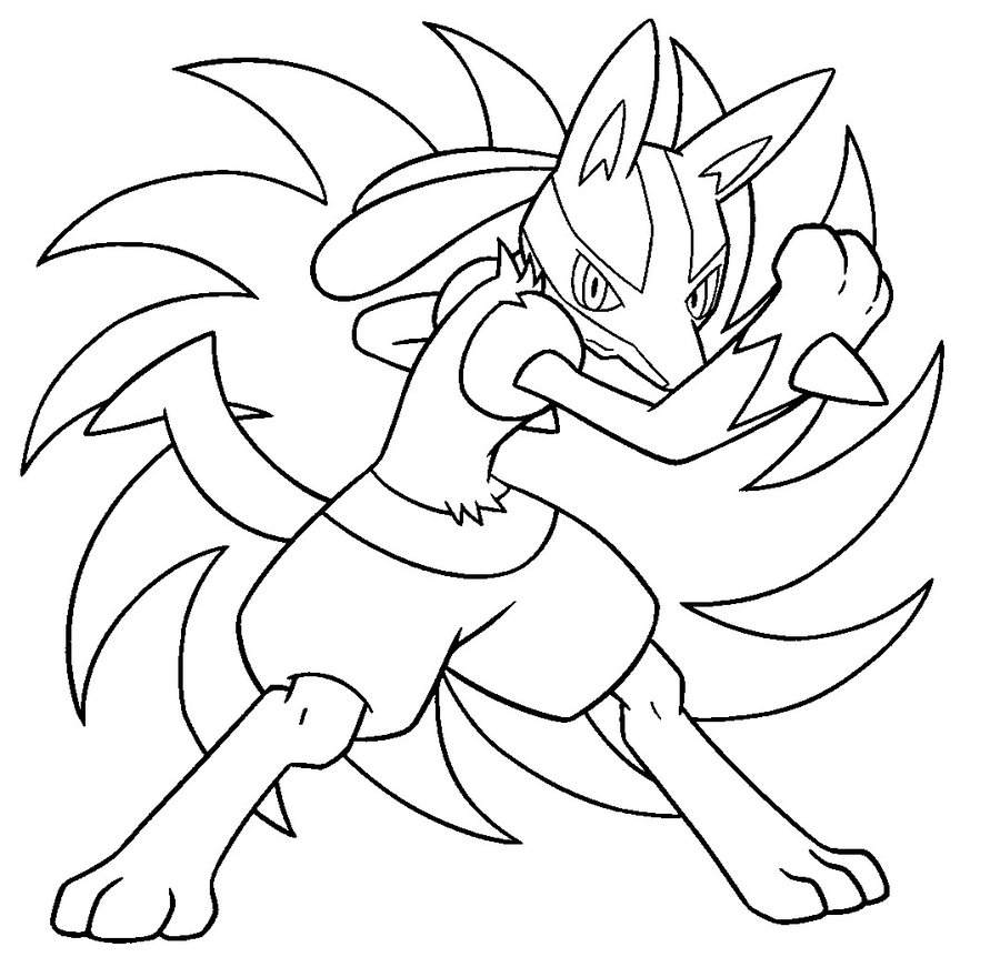 Pokemon coloring pages liepard - Coloring Pages Of Pok Mon Absol For Pokemon Lucario Coloring Pages Decimamas