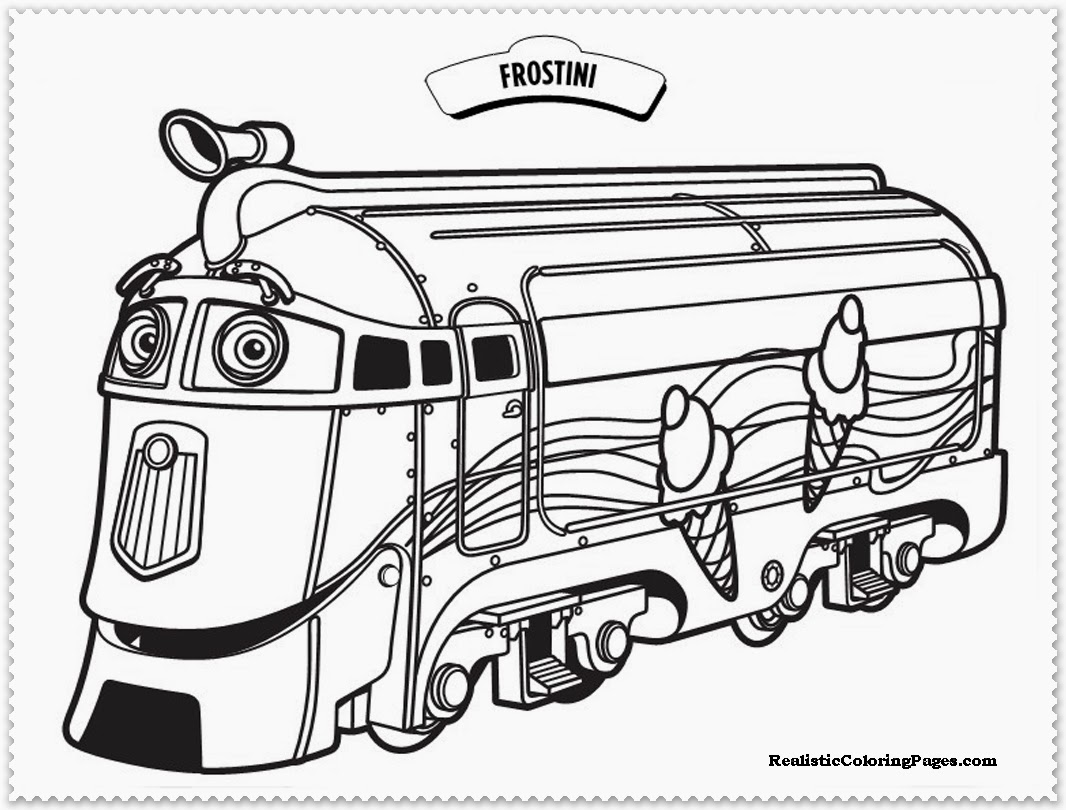 chuggington coloring book pages - photo#15