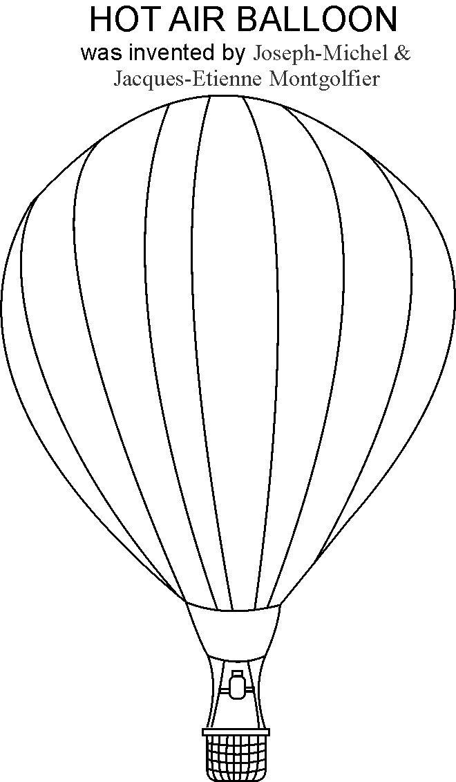 Hot air balloon coloring pages to download and print for free for Balloon coloring pages