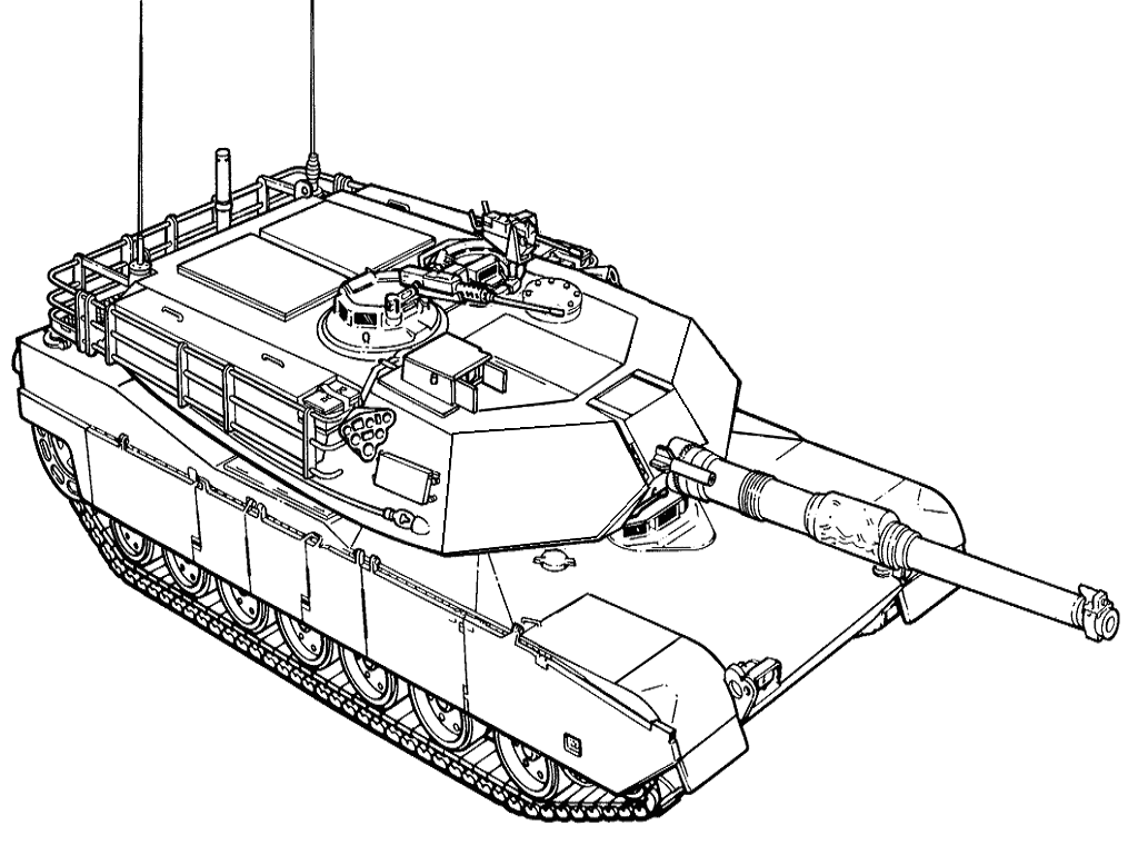 coloring pages tank - photo#7