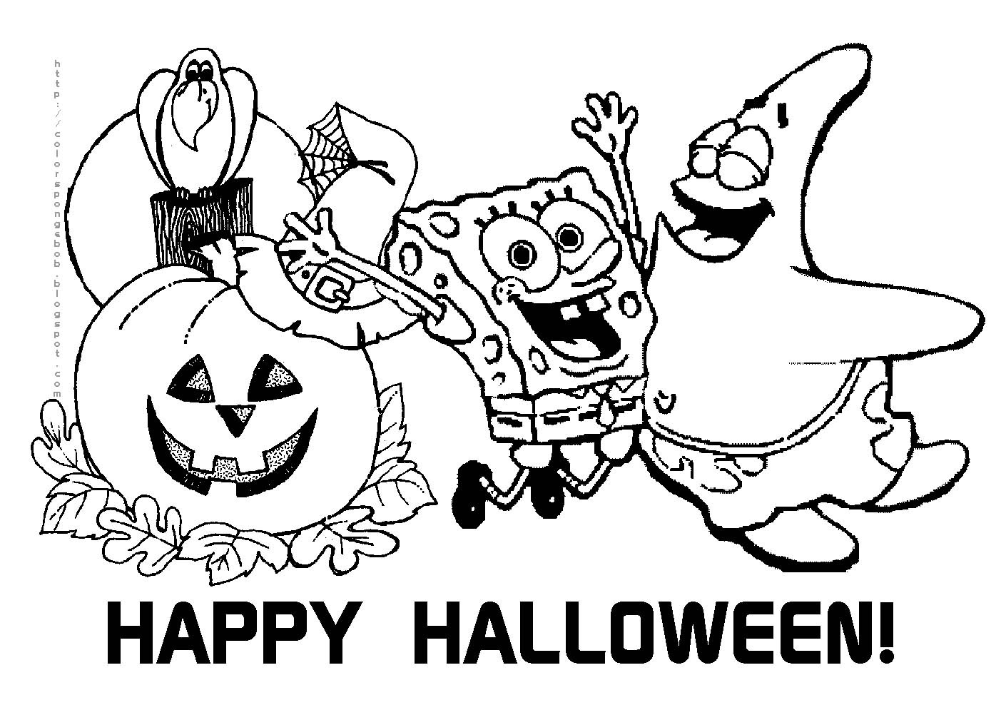 Coloring Pages Halloween Coloring Pages Free Print halloween coloring pages to download and print for free pages