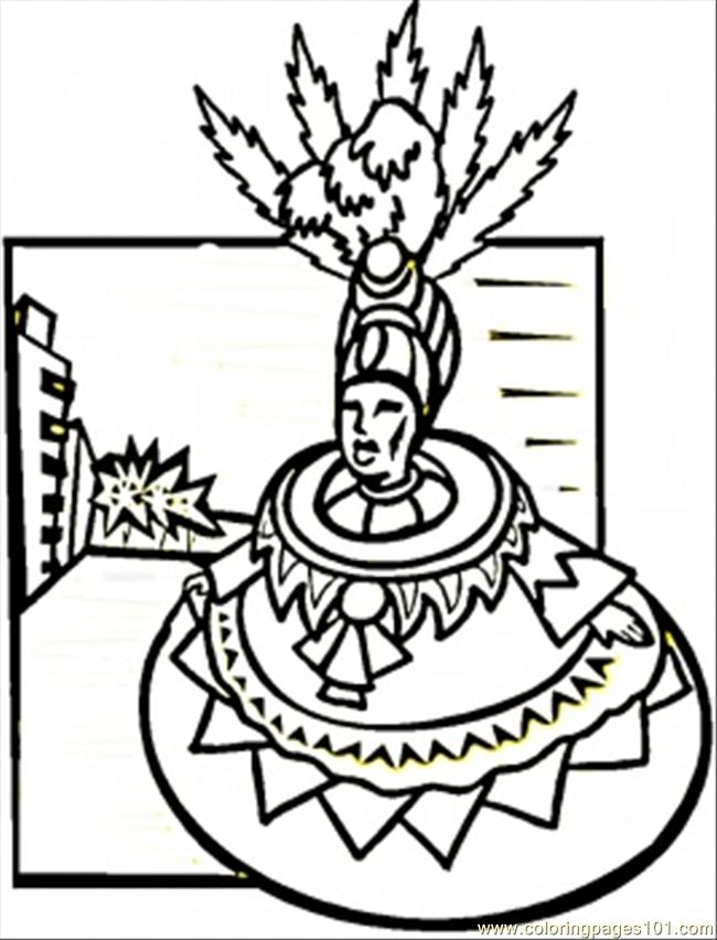 Brazil coloring pages to download