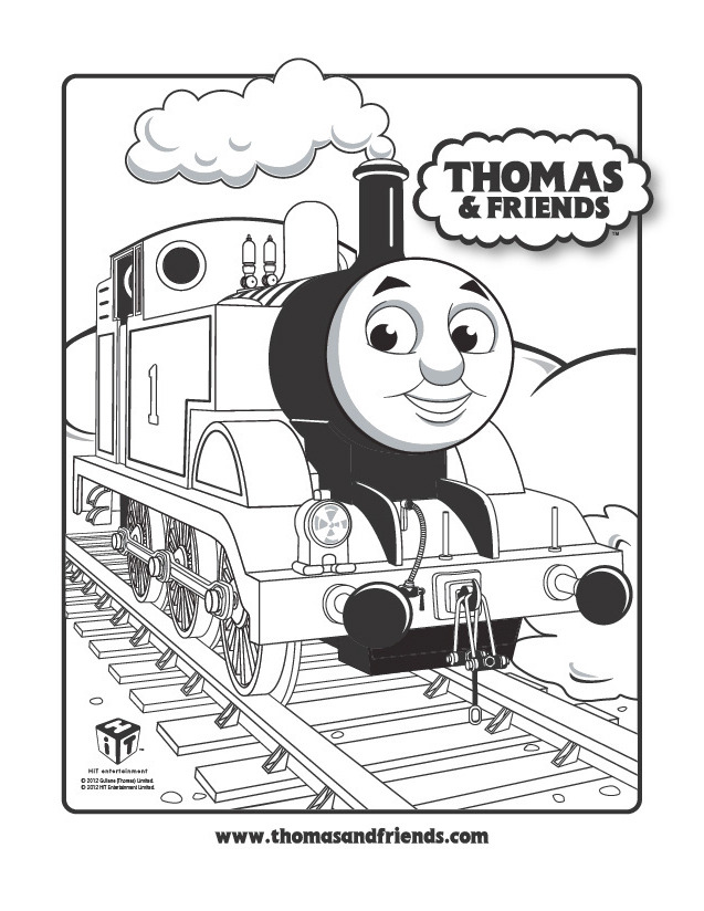 thomas train coloring pages - photo#34