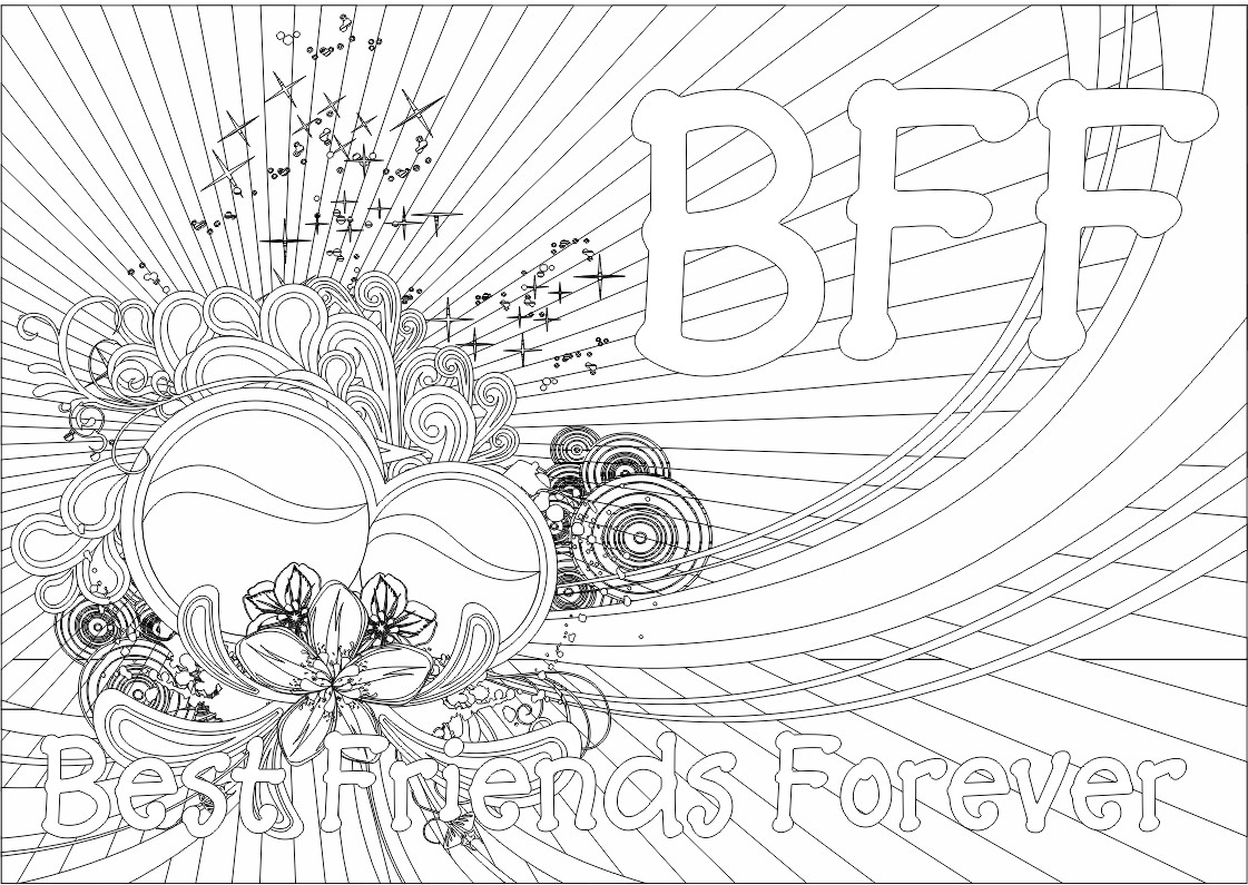 bff coloring pages - Word Girl Coloring Pages